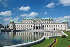 vienna veduta del palazzo del belvedere