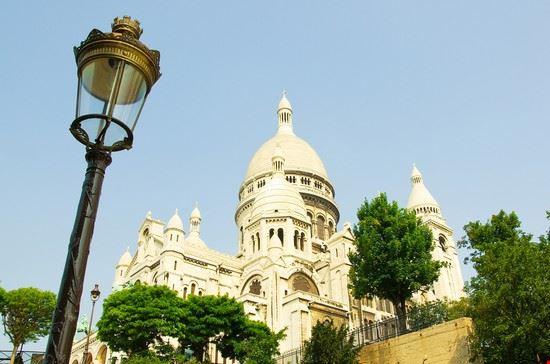 parigi la basilica del sacro cuore