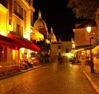 18067 parigi montmartre di notte