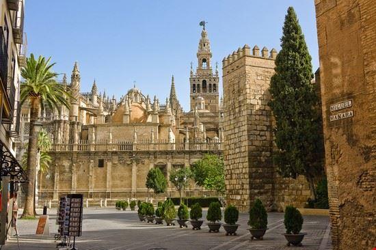18118 siviglia la cattedrale di siviglia