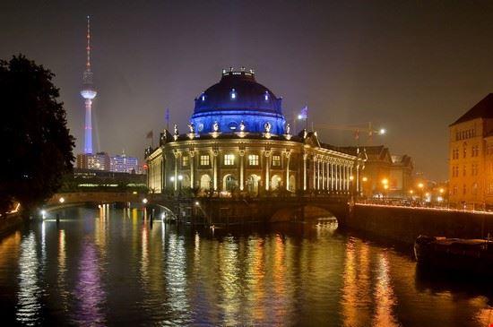 L'Isola dei Musei di notte