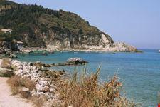 La spiaggia di Aghios Nikita