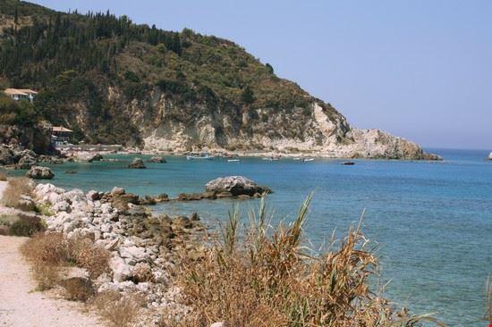 18168 lefkada la spiaggia di aghios nikita