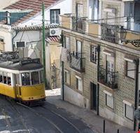 18184 lisbona veduta del tram 28