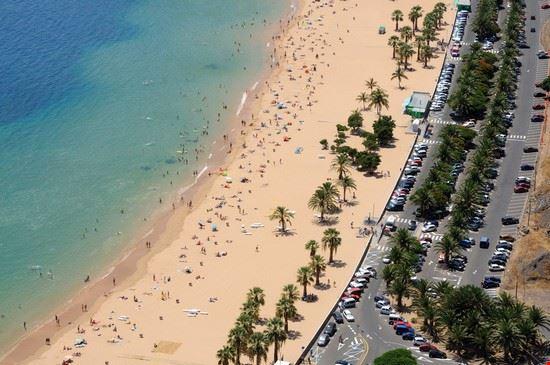 santa cruz de tenerife spiaggia las teresitas