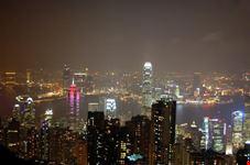 hong kong vista panoramica di hong kong e dintorni