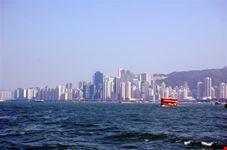 hong kong traversata con lo star ferry da tsim sha tsui kowloon al