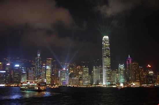 hong kong meraviglioso spettacoli di luci