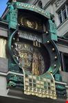 vienna famoso orologio a hoher markt