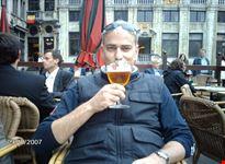 L'ultima birra a Bruxelles sulla Grand Place prima del ritorno a casa