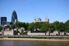 Lo skyline di Londra con la Torre