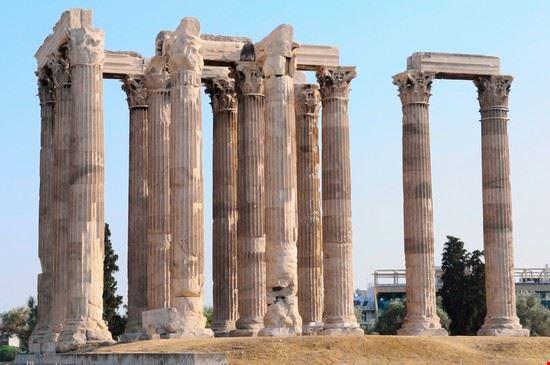 atene il tempio di zeus olimpo