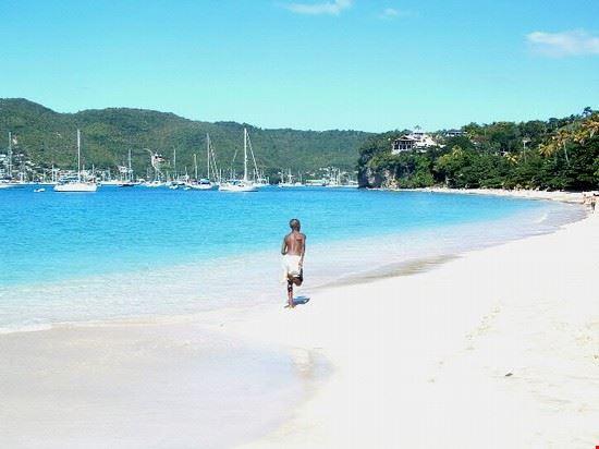 La spiaggia di Bequia, Grenadine