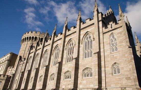 18750 dublino il castello di dublino