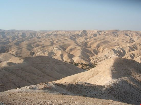 il deserto di giuda