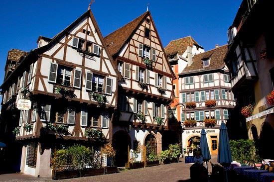 18864 strasburgo edifici medievali