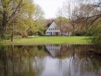 berlino il lago del parco di tiergarten