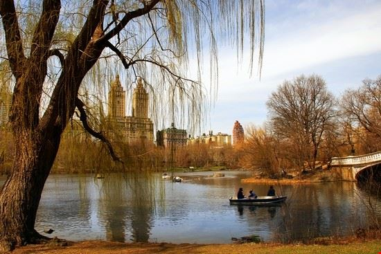 18912 new york central park in autunno