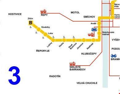 18978_praga_mappa_della_metropolitana_di_praga_sezione_3