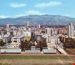 Stadio Comunale e panoramica del paese