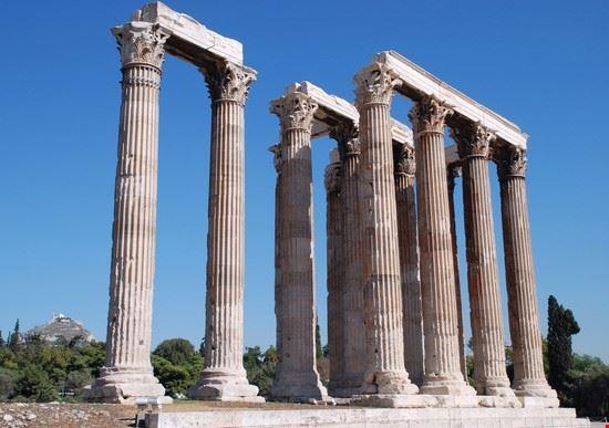 Scorcio del Tempio di Zeus Olimpo