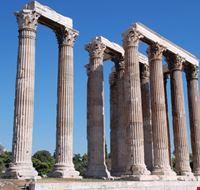 19020 atene scorcio del tempio di zeus olimpo