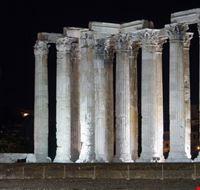 19021 atene il tempio di zeus olimpo  illuminato