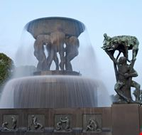 La fontana del Parco Vigeland