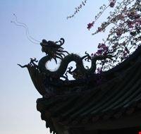 Particolare di un tetto (tempio Nanputuo)