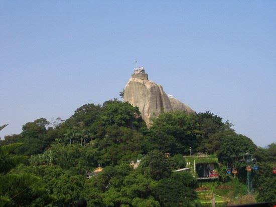 xiamen roccia della luca solare a gulangyu
