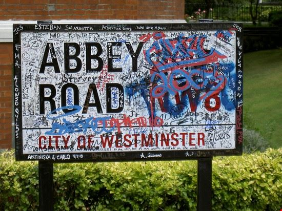 19087 londra targa di abbey road