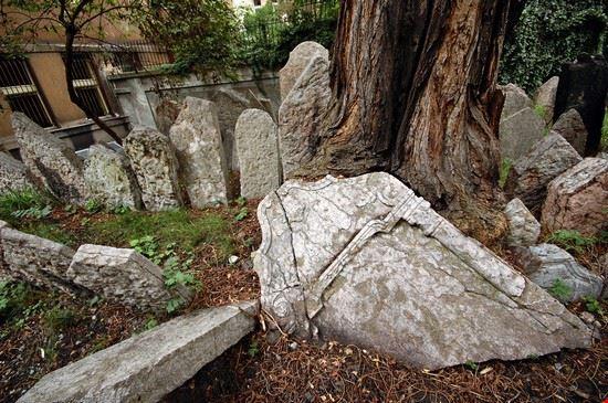19158 praga particolare del cimitero