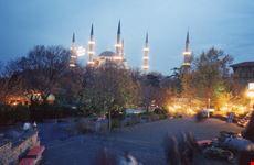 Sultanhamet di sera