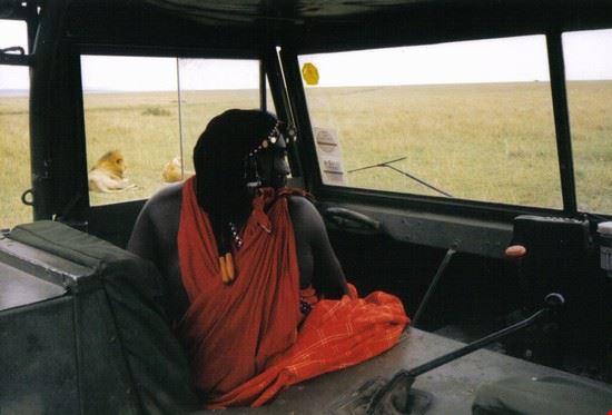 Masai la nostra guida nel Safari