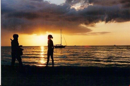port antonio colori al tramonto