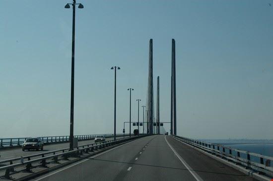 19435 copenaghen scorcio del ponte sull oresund