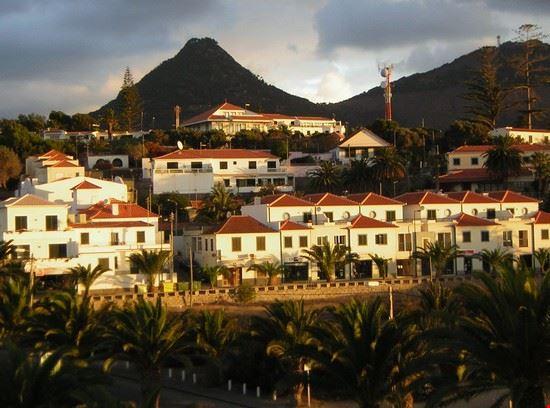 Il paese di Porto Santo