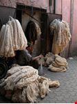 marrakech il souk dei tessitori