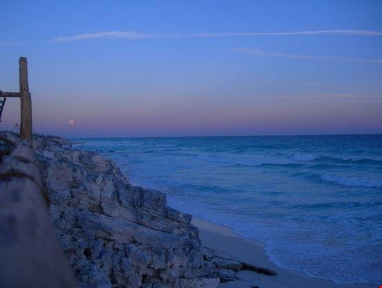 cayo largo spiaggia al tramonto