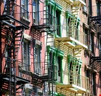 19604 new york colorful buildings in tribeca