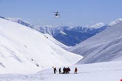 Skiing in Gudauri