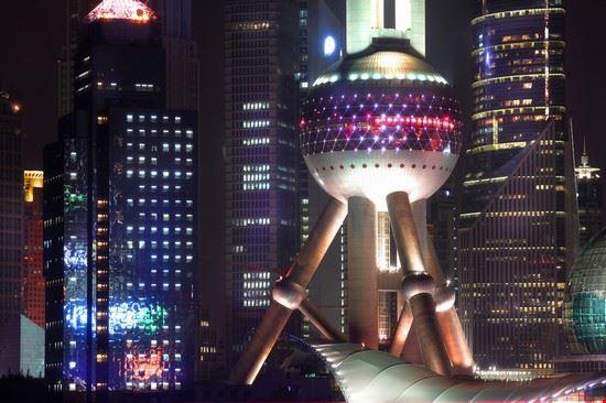 19614 shanghai the bund-pearl tower
