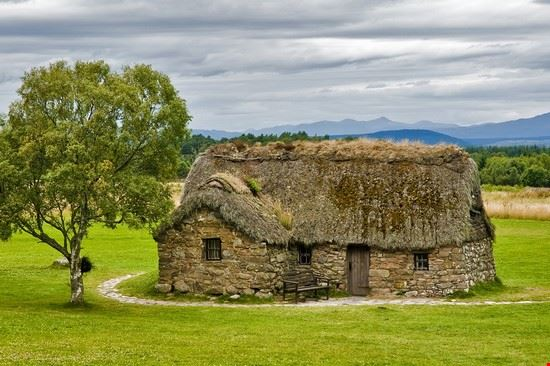 Old house in Culloden Battlefield