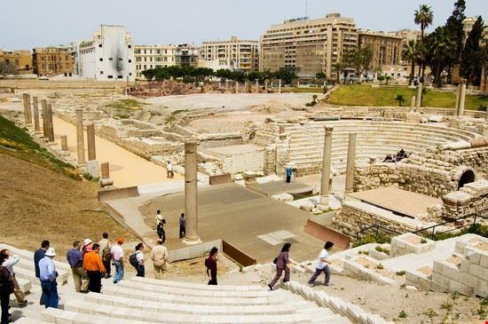 19695 alexandria roman amphitheatre