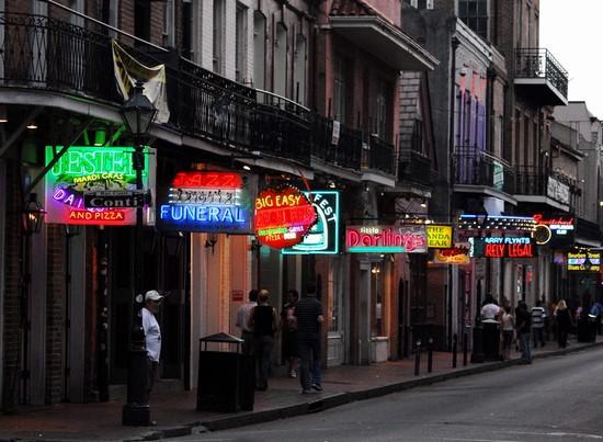 Photo New Orleans New Orleans Bourbon Street Photos De La Nouvelle