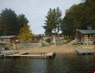 cabins on the lake in Michigan