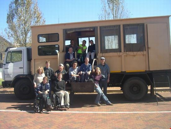 19875 johannesburg wheelchair accessible truck