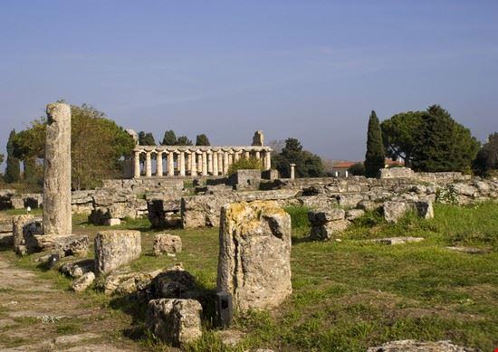 capaccio temple of athena in paestum