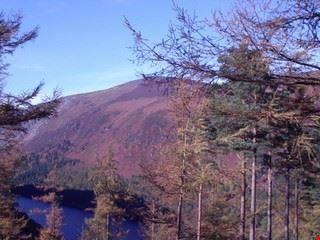 dublin upper lake in glendaough