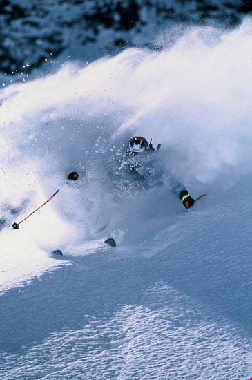 Skiing in Caucasus